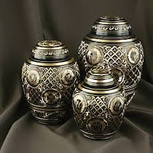 Golden Metal Urns