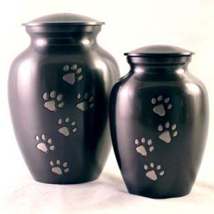 urn-metal-paw-print-duo