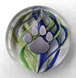 Glass Pet memorial keepsake