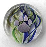 Glass Pet memorial keepsake