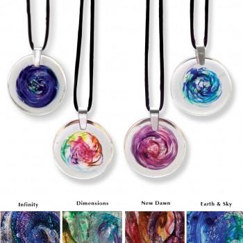 Glass Memorial Jewelry