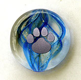 Stone Ocean Blue Pet Keepsake