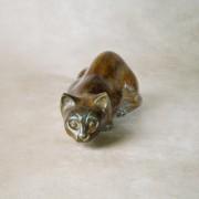 Pouncing Cat Urn
