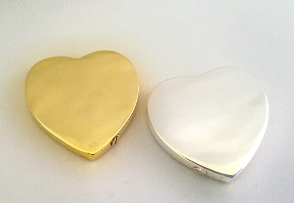 Custom Nose or Paw Print Heart w/cremains