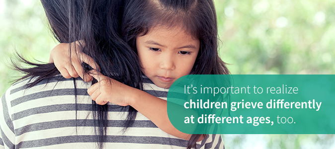 Children Grieve Differently Depending on Age
