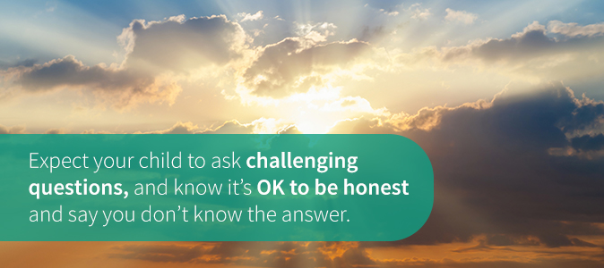 Child May Ask Challenging Questions
