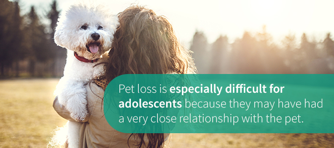 Pet Loss Especially Difficult for Adolescents