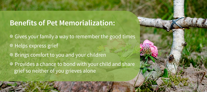 Benefits of Pet Memorialization
